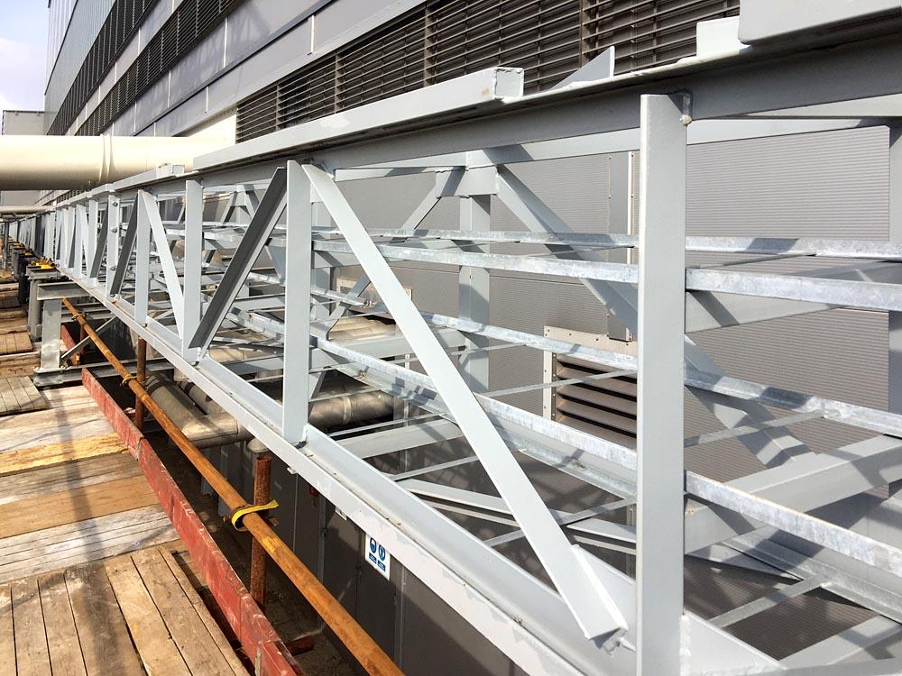 Výroba, montáž a dodání nosné, průmyslové, ocelové konstrukce potrubního mostu pro Elektrárnu Tušimice